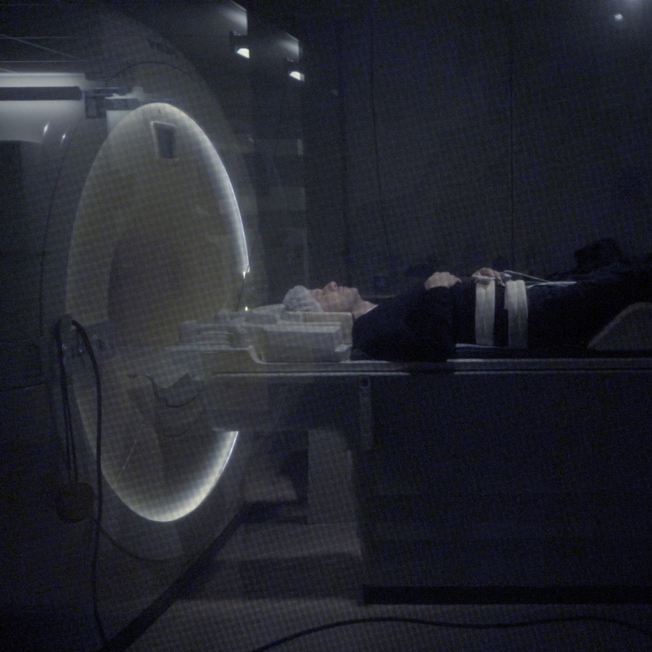 "Merel Bekking scans Dezeen founder Marcus Fairs' brain to create his ""perfect"" design"