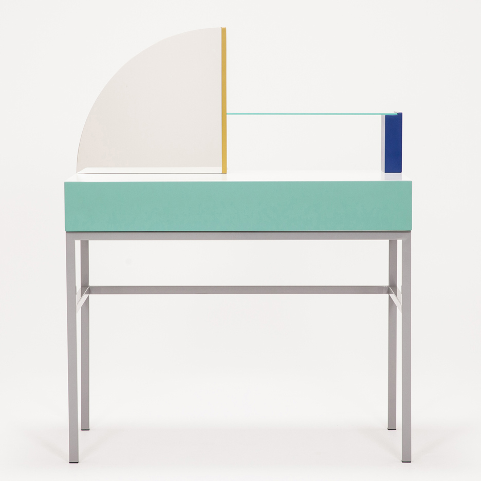 Assembly dressing table by Zoe Mowat