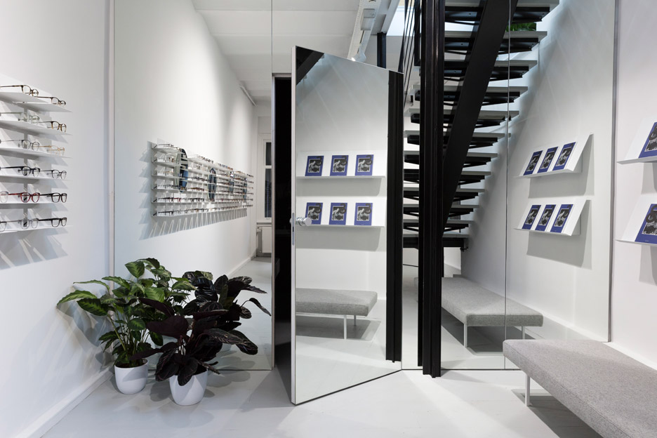 Ace and Tate Utrecht flagship store by Occult studio