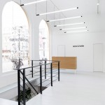 Occult Studio models Ace & Tate eyewear store on contemporary art galleries