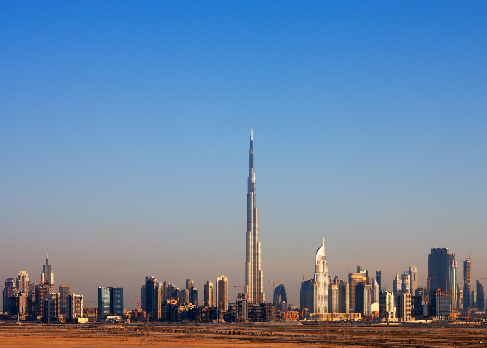 Adrian Smith's portfolio includes the 828-metre Burj Khalifa in Dubai