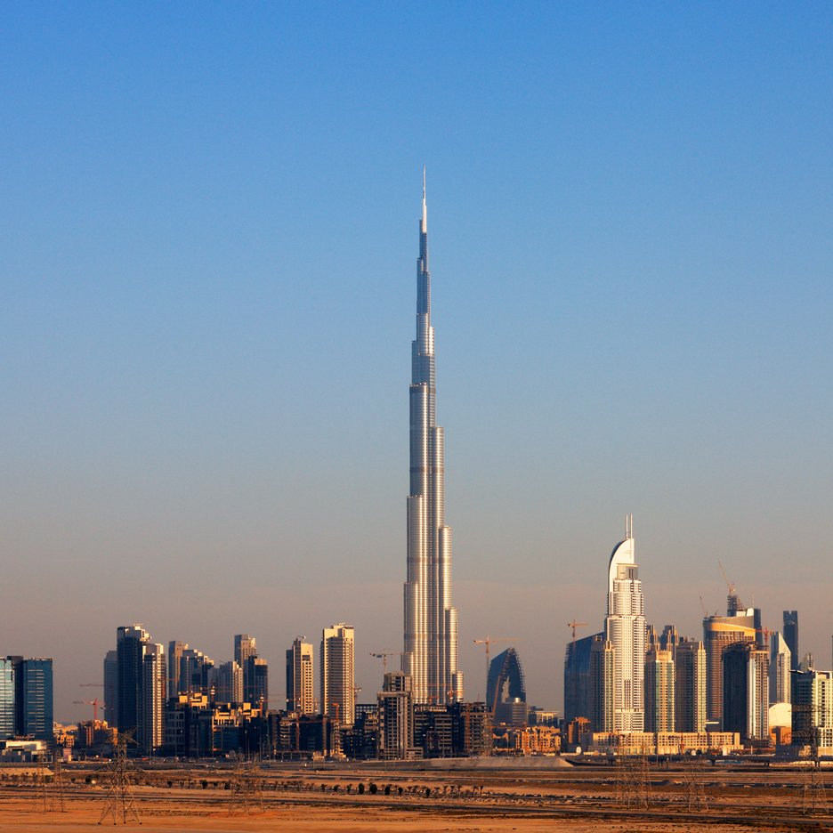 Burj Khalifa by Adrian Smith + Gordon Gill Architecture