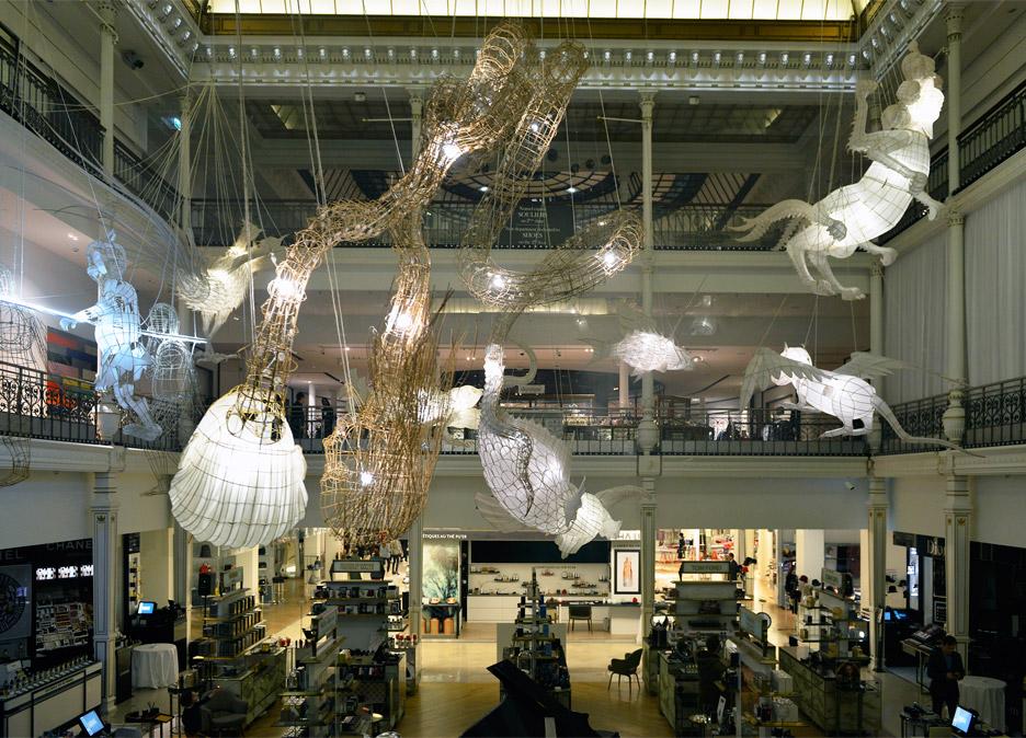 Ai Weiwei for Le Bon Marche exhibition