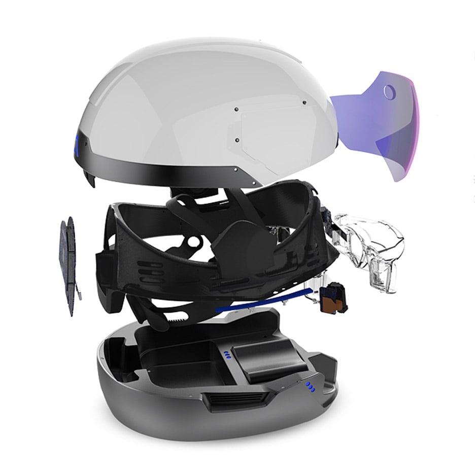 Daqri augmented reality helmet teco milano realtà aumentata cantiere