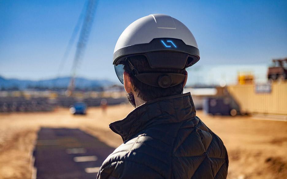 Daqri augmented reality helmet teco milano cantieri