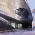 2015 finalist Commercial Architecture over 1,000 square metres category – China Wood Sculpture Museum by MAD Architects