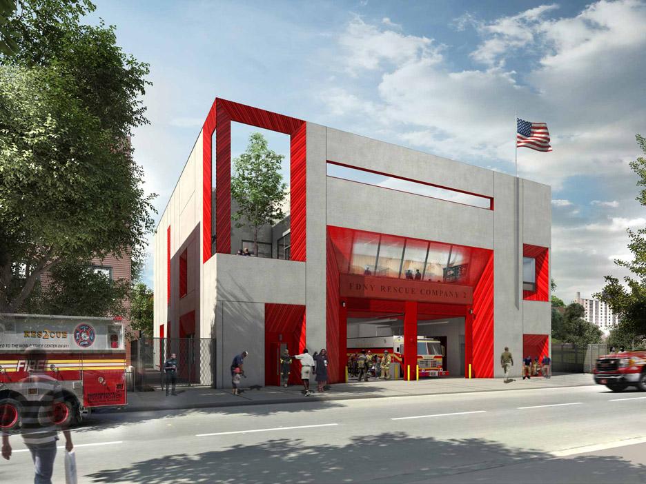 Brooklyn Fire Station by Studio Gang