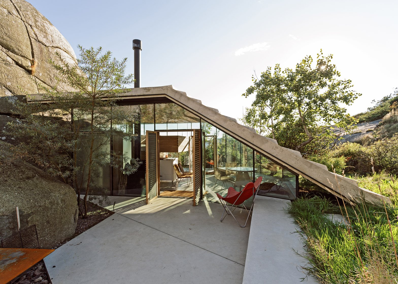 Stepped Roof House