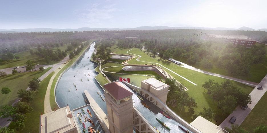 Heneghan Peng unveils winning design for $30 million canoe museum in Canada