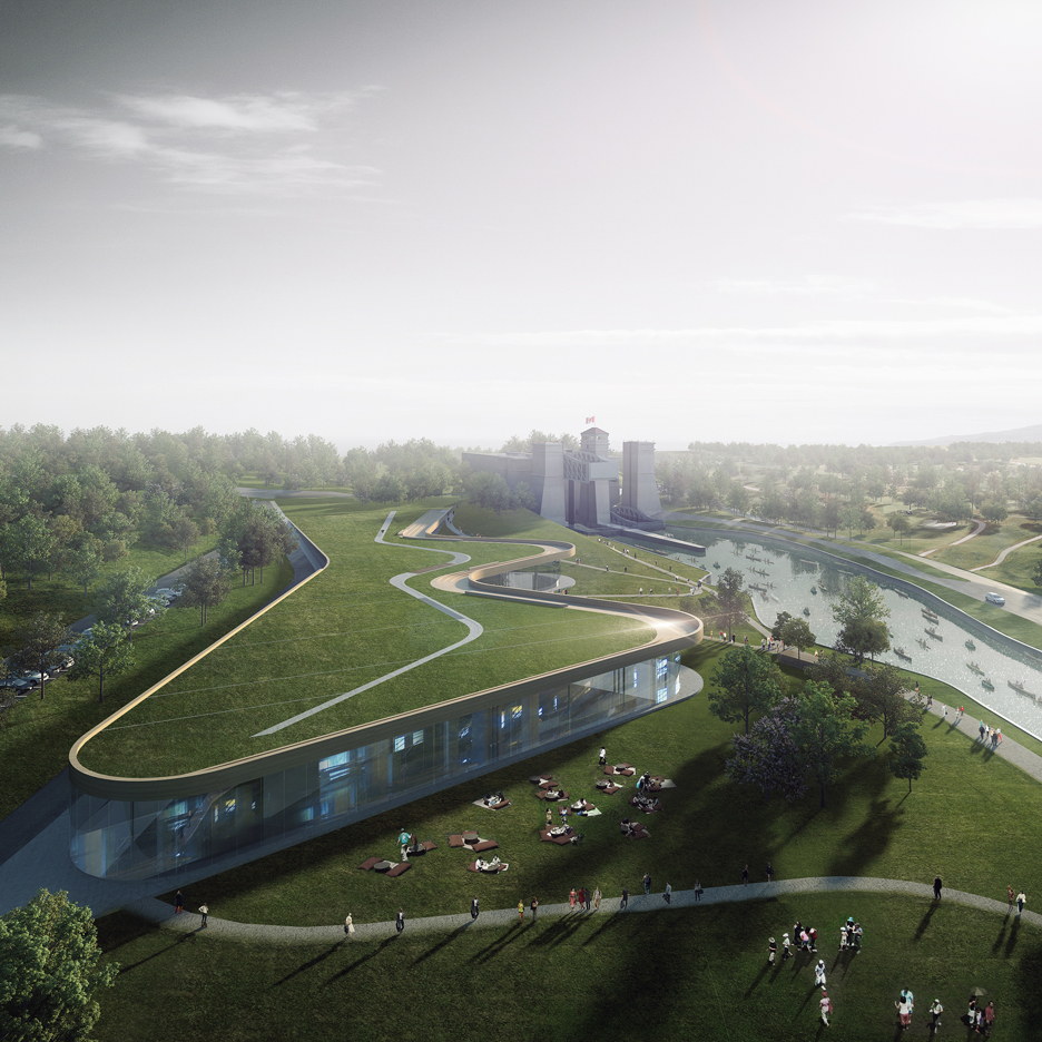 Heneghan Peng unveils winning design for canoe museum in Canada