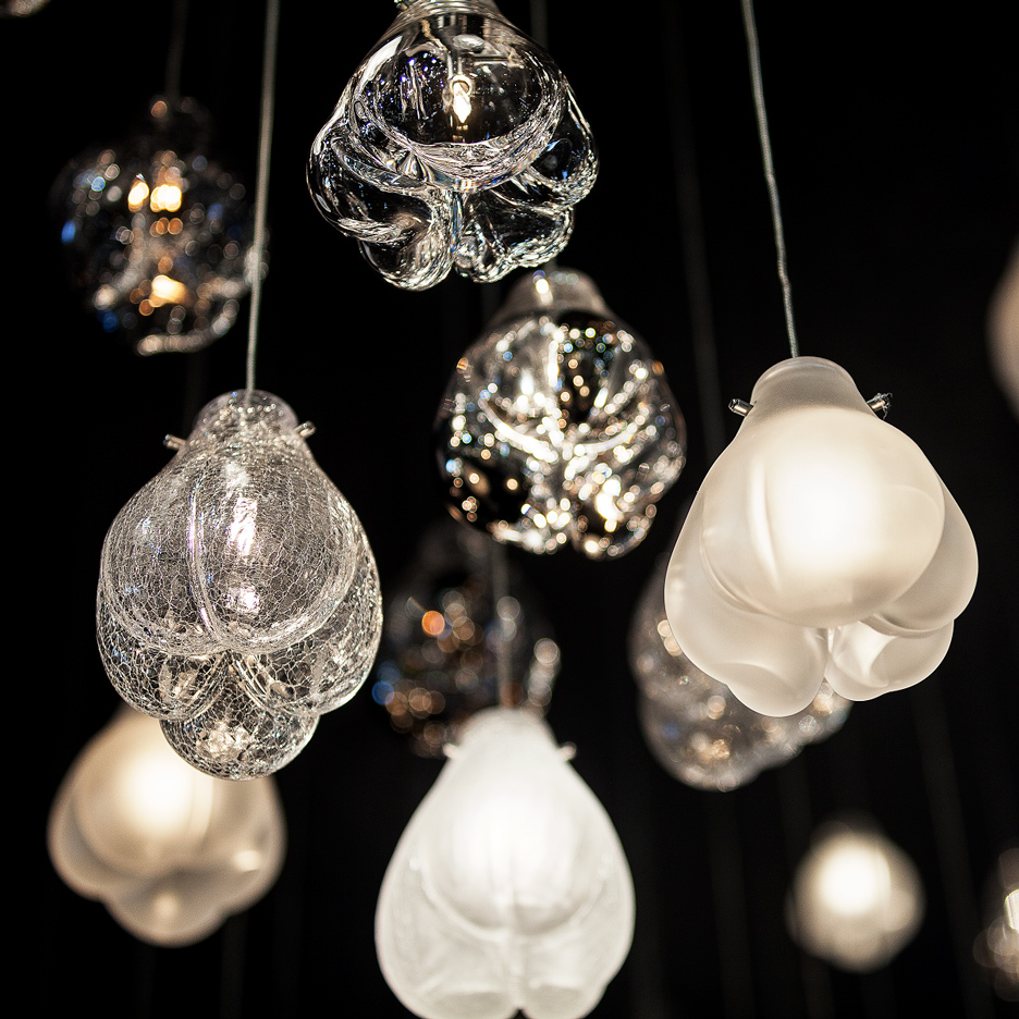 Cassia lamps by Petra Krausova at Maison & Objet 2016