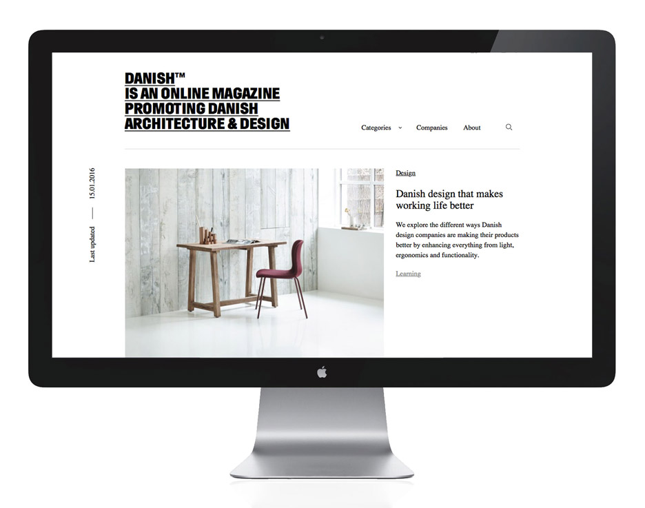 Explore Denmark's architecture and design with new online magazine Danish™