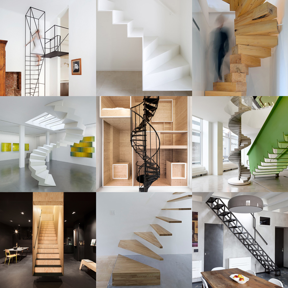 New Dezeen Pinterest board full of extreme staircases