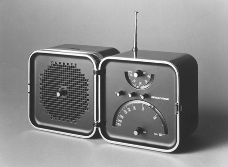 TS 502 radio by Richard Sapper for Brionvega