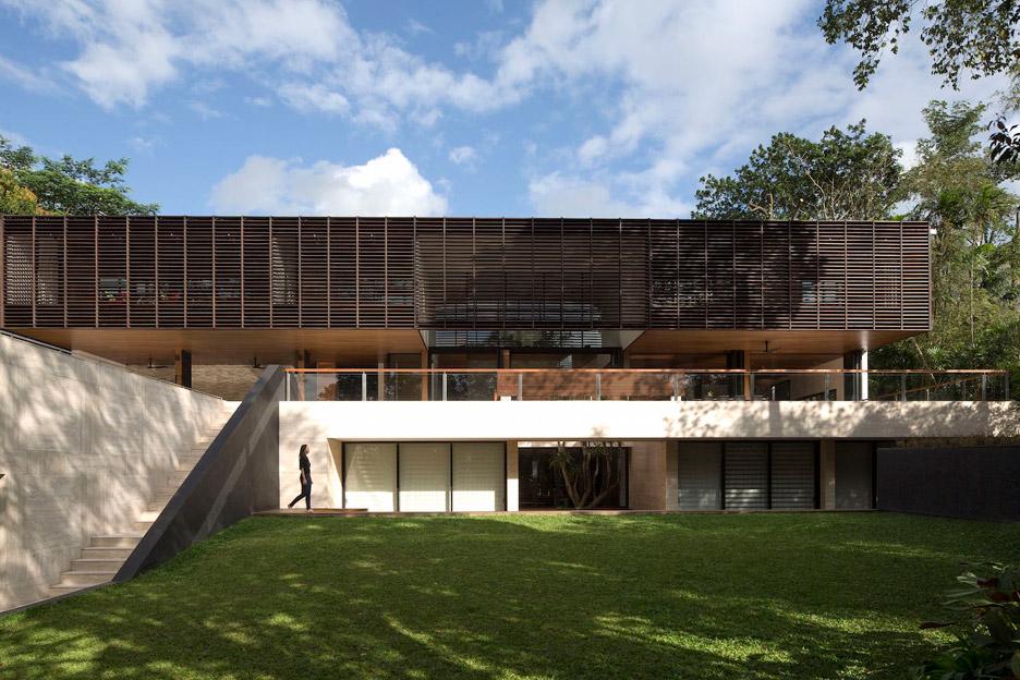 Gallop House by Formwerkz Architects