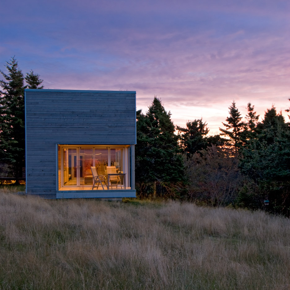 MacKay-Lyons Sweetapple adds timber-clad spa to its House 22 in Nova Scotia