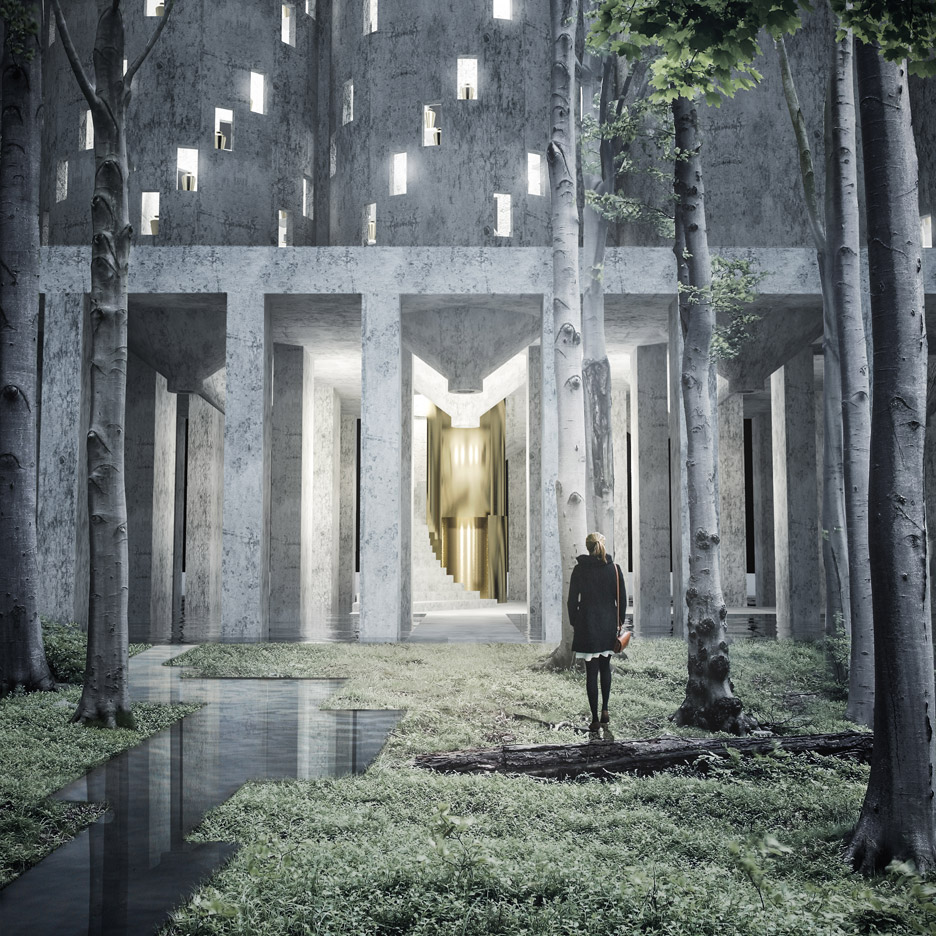 The House of the Living and The House of The Dead by Fredrik Thornström and Karolina Pajnowska