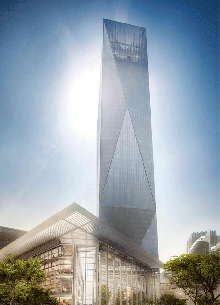 Foster and Partners unveil plans for Dubai skyscraper