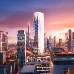 Foster + Partners unveils design for crystalline skyscraper now underway in Dubai