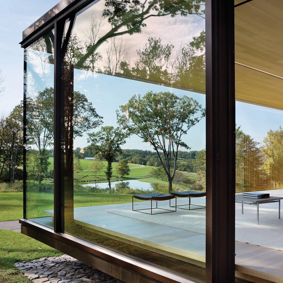 Lm guest house by desai chia architects in dutchess county new york