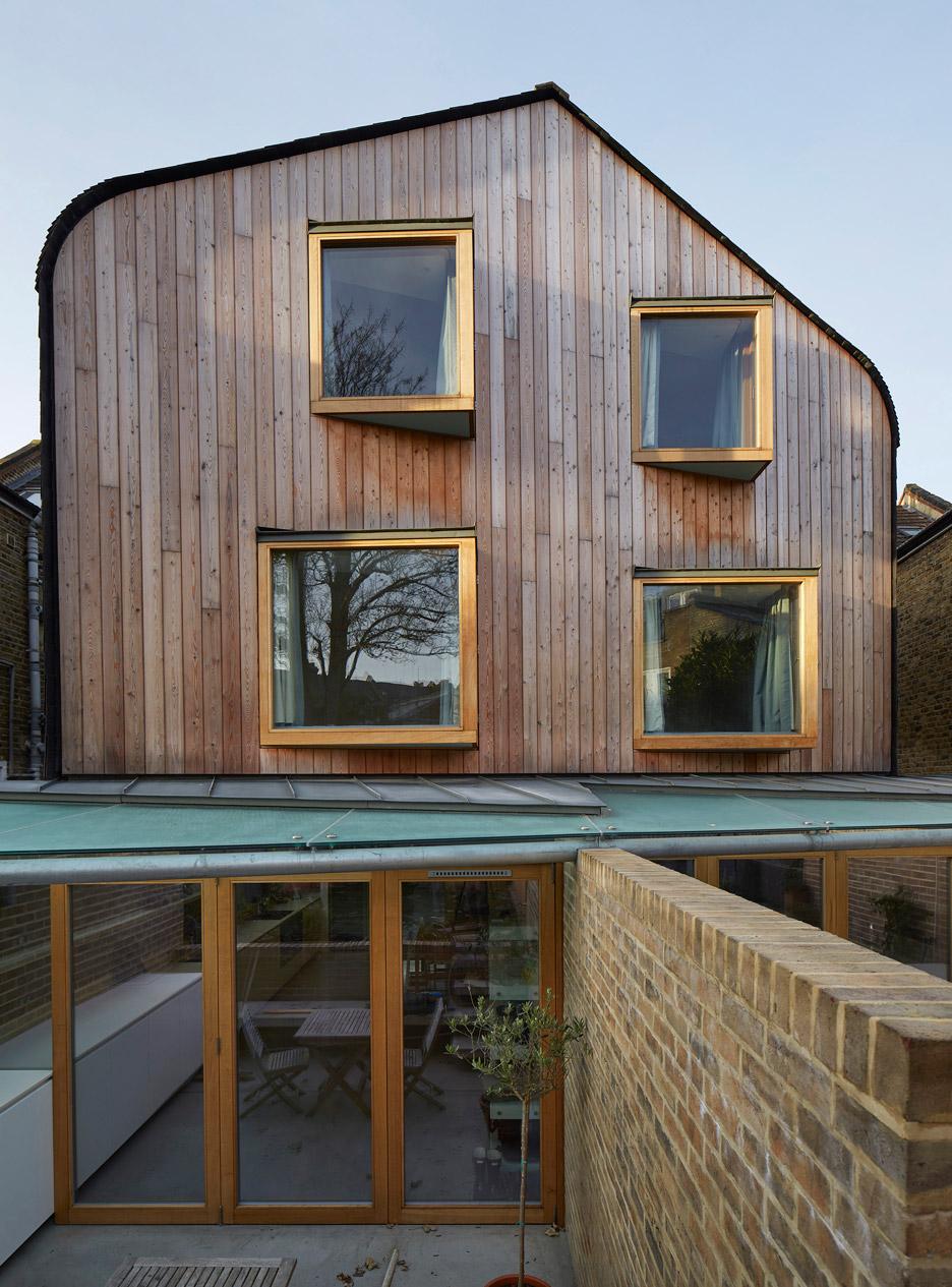 London Brownstones by Knox Bhavan Architects