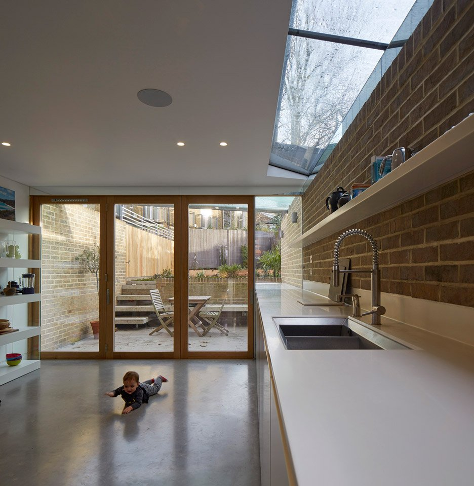 London Brownstones by Knox Bhavan Architects