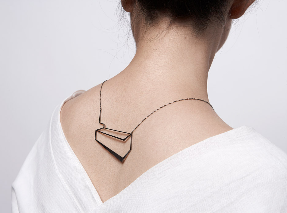 The Mechanics of Black jewellery collection by Eleftheria Stamati