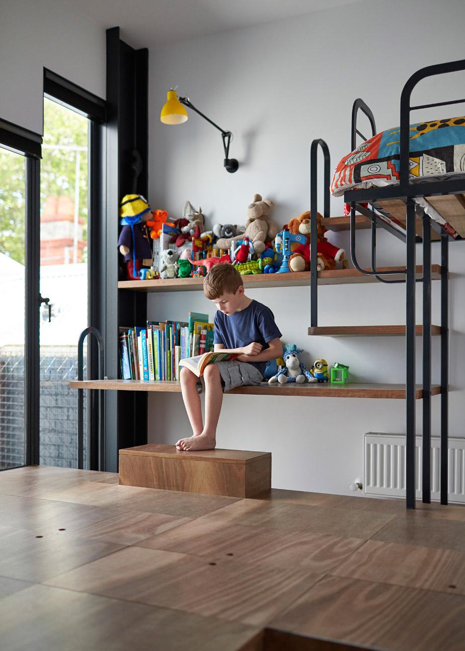 Mills toy management house by Austin Maynard