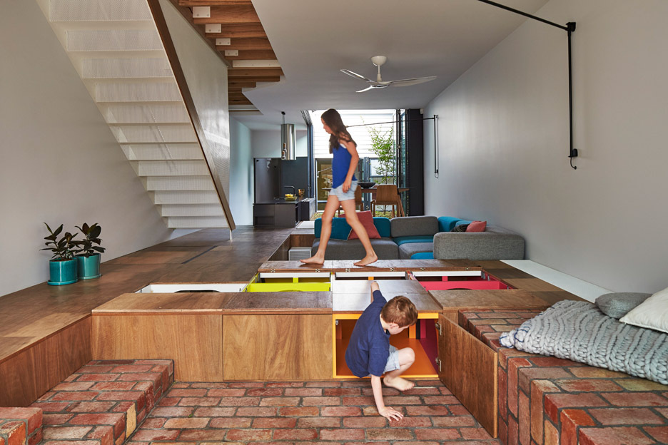 Mills toy management house by Austin Maynard