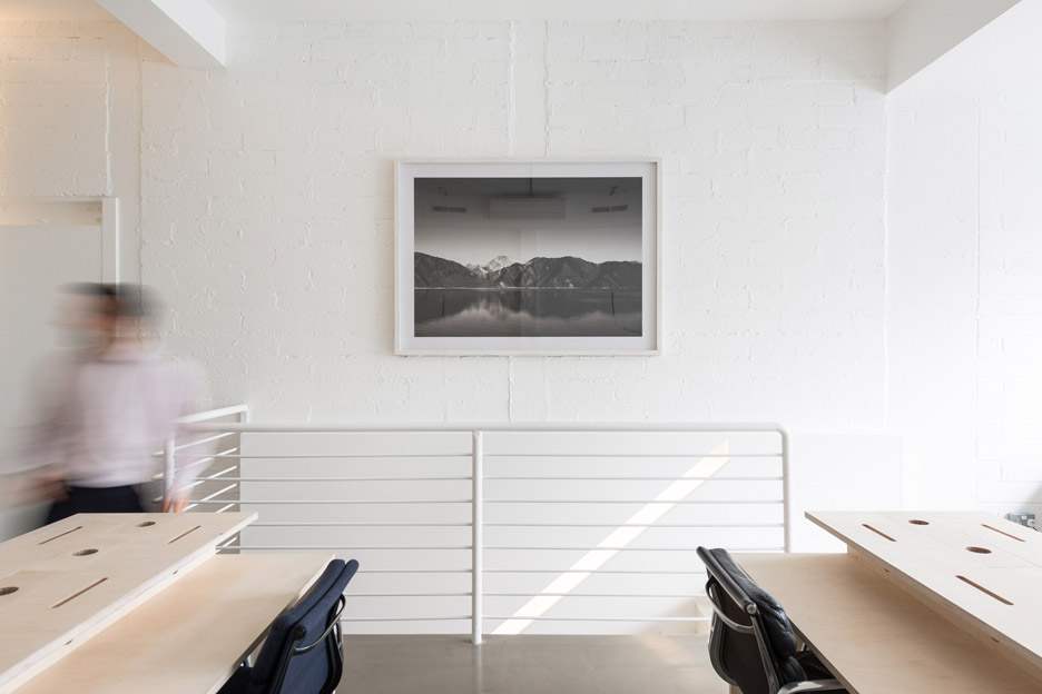 The Modern House office with furniture by Assemble