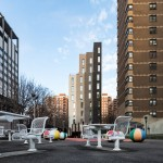 Photos released of New York's first micro-apartment tower by nArchitects