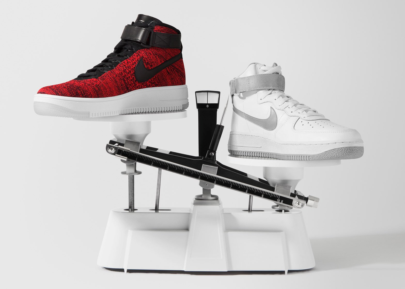 e7b28f428a75 Nike applies Flyknit material to Air Force 1 trainers