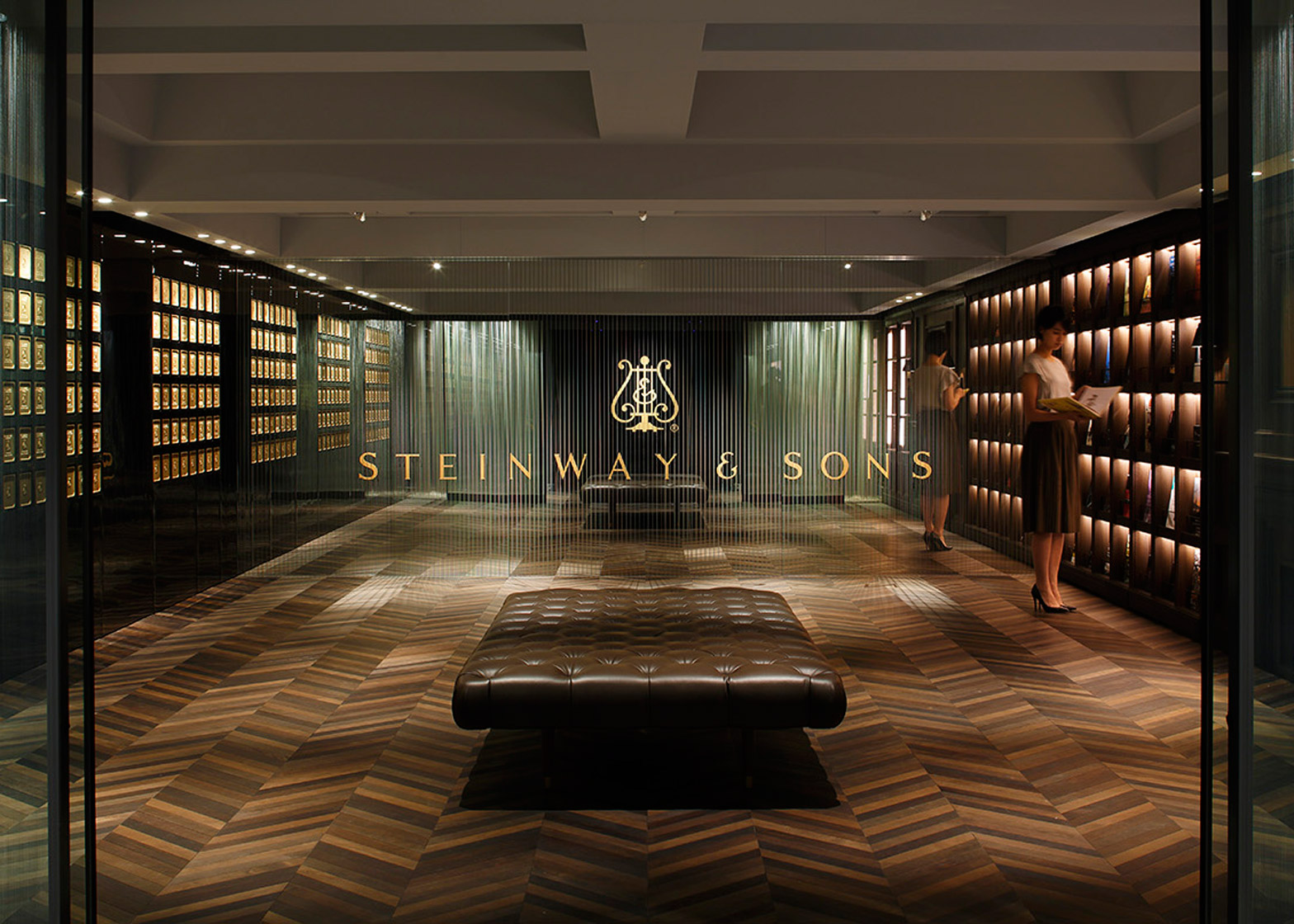 Steinway and Sons Flagship shop by Salt