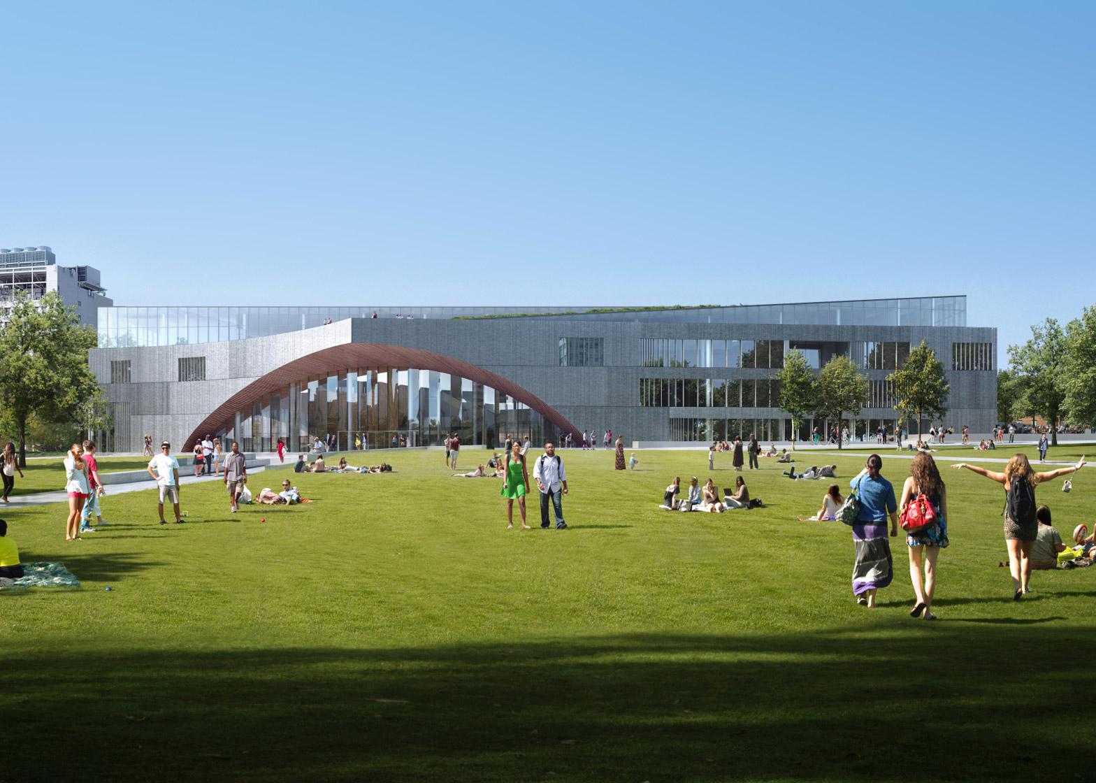 Temple University Library by Snøhetta