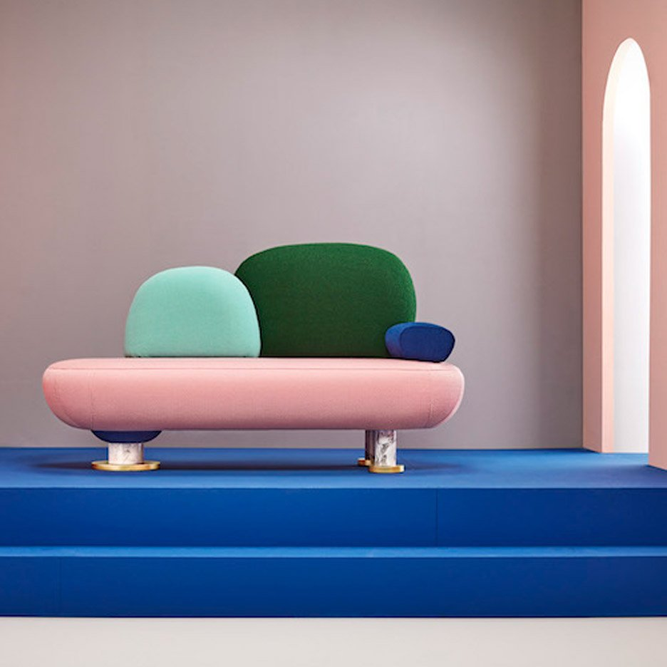 Toadstool furniture by Masquespacio
