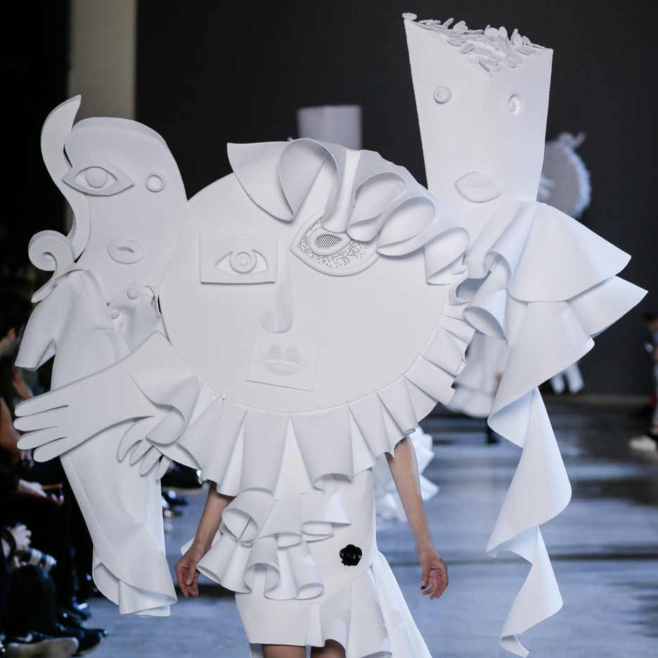 Viktor & Rolf mixes Picasso and polo shirts for Spring Summer 2016 haute couture