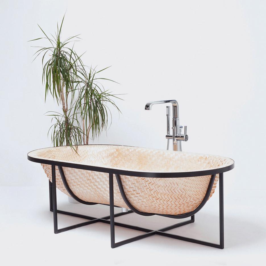 Woven bathtub by Otaku