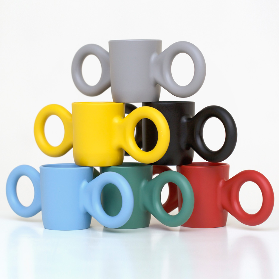 "Richard Hutten's Dombo mug ""makes people happy when they see it"""