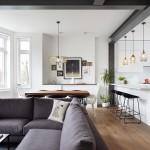 Rise Design Studio renovates flat inside a 19th-century London mansion block