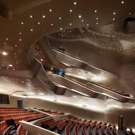 Guangzhou Opera House by Zaha Hadid