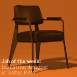 Job of the week: industrial designer at G-Star RAW