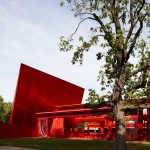 "Jean Nouvel's Serpentine Gallery Pavilion in 2010 was ""the first to really use colour"""