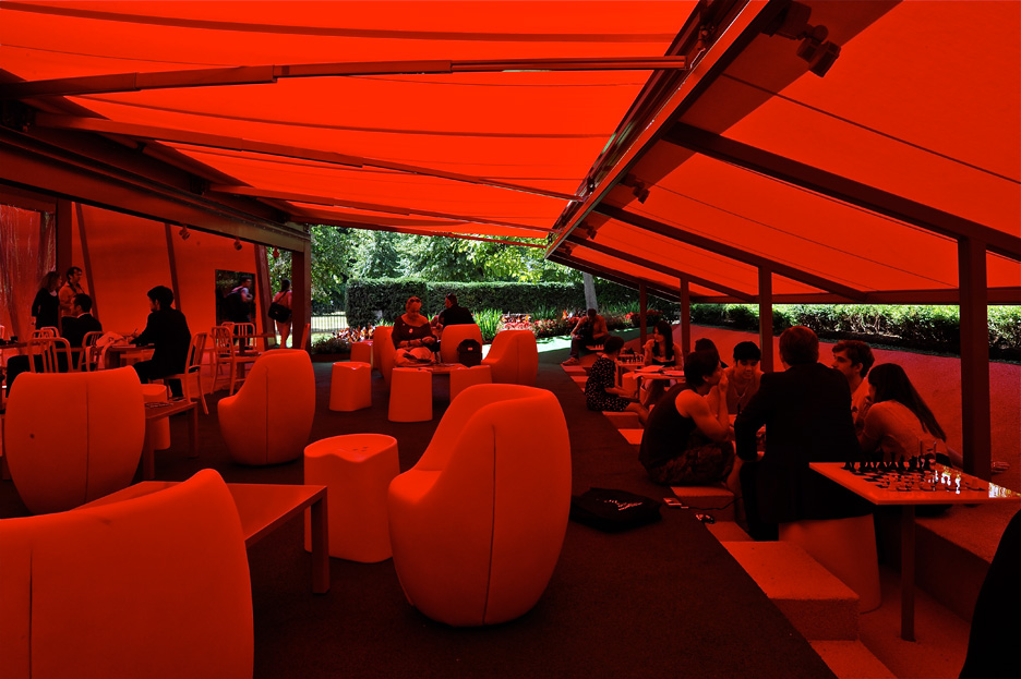 Serpentine Gallery Pavilion 2010 by Jean Nouvel