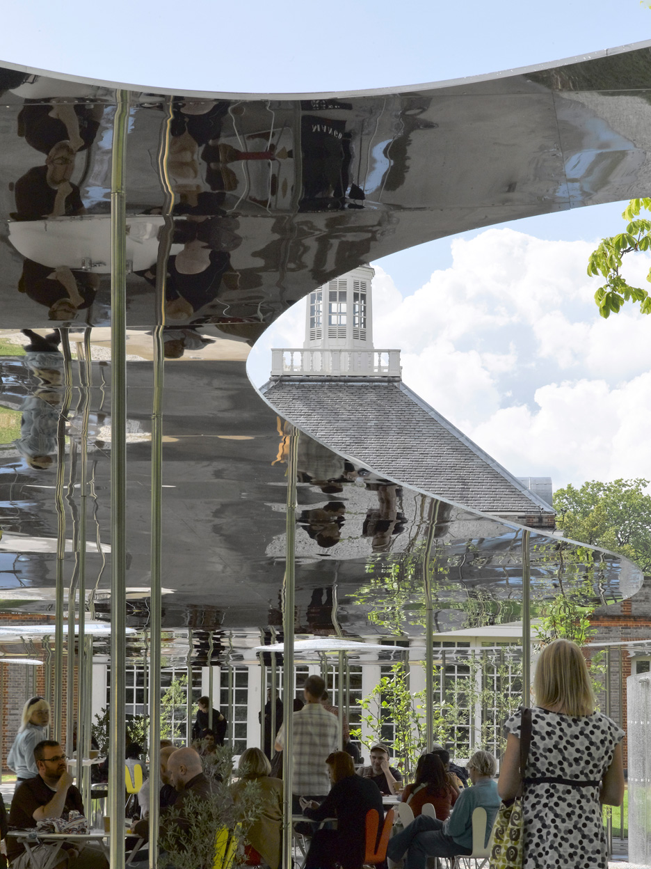 Serpentine Gallery Pavilion 2009 by Kazuyo Sejima and Ryue Nishizawa of SANAA