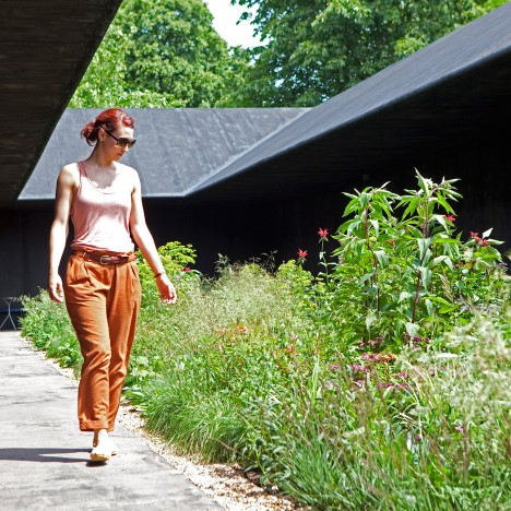 "Peter Zumthor's Serpentine Gallery Pavilion 2011 was a space of ""solitude and calm"""