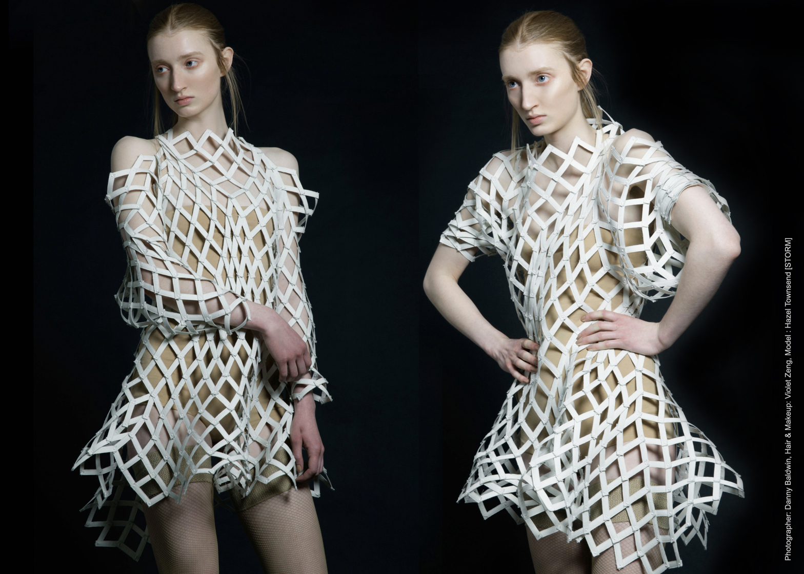 Shape Shifters garments by Angelene Laura Fenuta