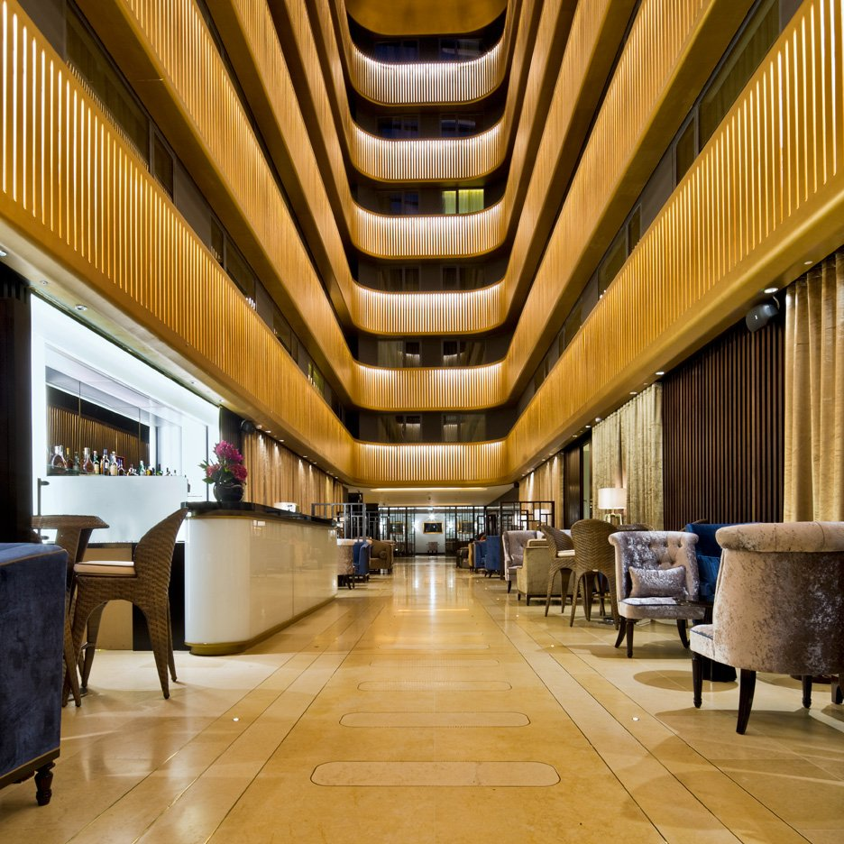Shepherd's Bush Pavilion hotel by Flanagan Lawrence