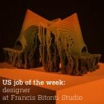 US job of the week: designer at Francis Bitonti Studio