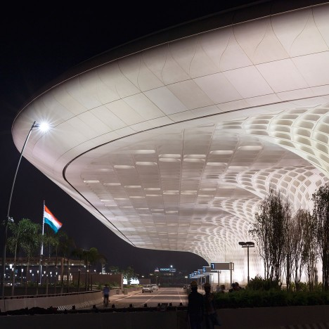 Terminal 2 building at Mumbai International Airport by SOM