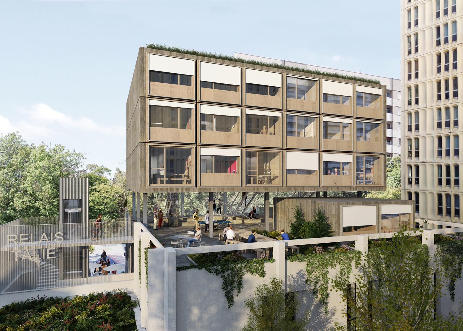 Conservatoire by Pablo Katz Architecture